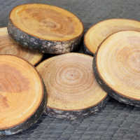 Red Alder Wood Slices (Birch Slices) - Small
