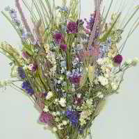 Dried Flower Bouquet - Summer Ice Bunch