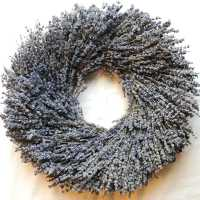 Round Shaped Lavender Wreath
