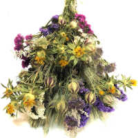 Dried Morning Blooms Flower Bouquet