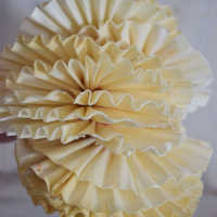 Wood Fan Flowers - Sola Fans
