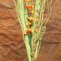 Berry Reed Grass Bouquet