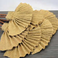 Decorative Burlap Fans - Teddy Fans