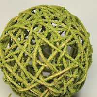 Curly Willow Topiary Ball - Moss coated
