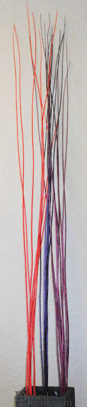 Long Willow Branches / Sticks - Colors - Click Image to Close