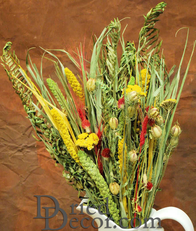 Dried Flower Bouquet Painted Desert Bunch Larger Image