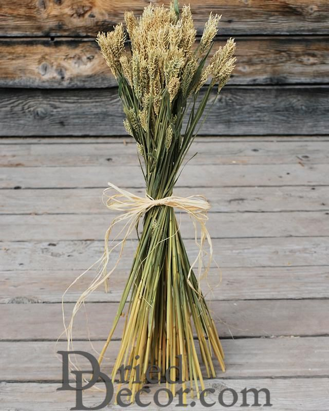 Hooked Barley Bunches - Click Image to Close