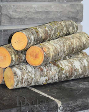 Red Alder Firewood Logs Loose - 3 Decorative Large Logs