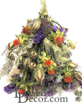 Dried Garden Parade Flower Bouquet