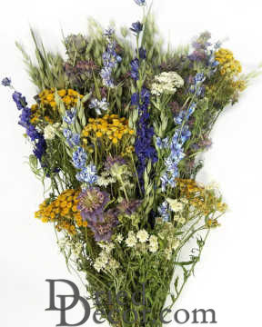 Dried Mountain Meadow Flower BouquetThis