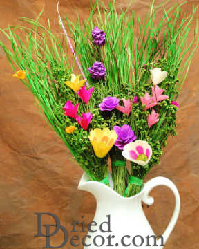 Wood Flower Bouquets - More