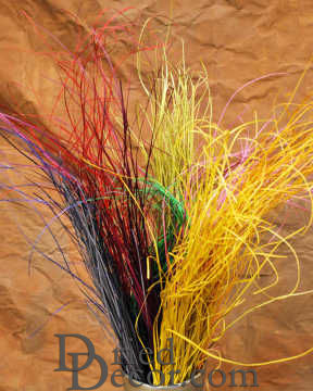Dried Bear Grass - Dyed