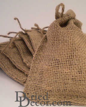 Burlap Bags - Satchel Bags - Great for Gifts Bags