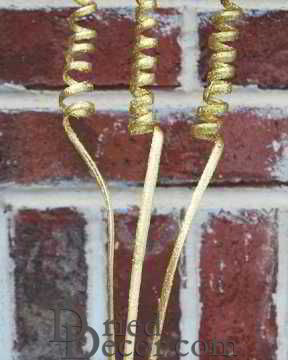 Dried Cane Springs - Gold or White