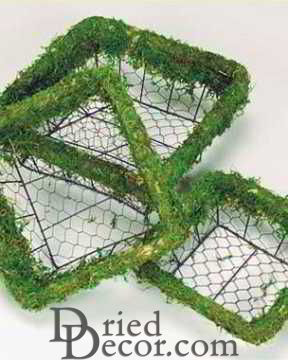 Moss Wire Basket Set - Square