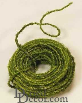 Moss Wire - Green 75 foot Coil
