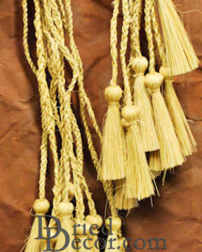 Natural Decorative Tassels