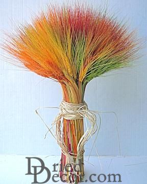 Dyed Wheat Stack Bundle - 2lb