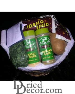 Idaho Potato Deluxe Gift Basket