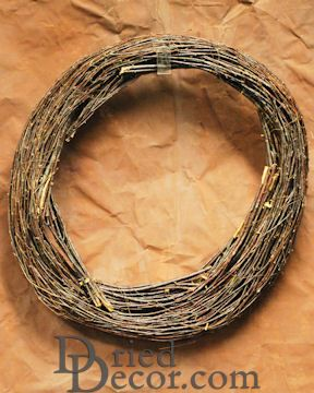 Round Birch Branch Wreath
