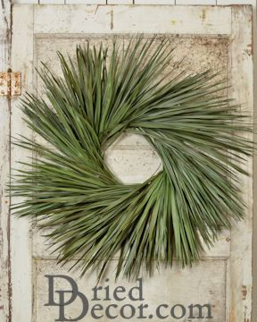 Dried Palm Leaf Wreath