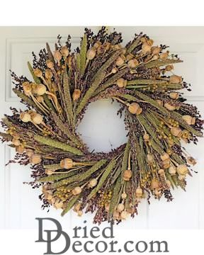 Bird Lovers Wreath - 22 inch