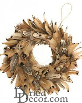"Ring neck Pheasant Wreath 8"" Diameter [ZF,WRPH8]"