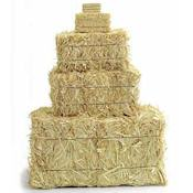 Miniature straw bales - 10 inch mini straw bale