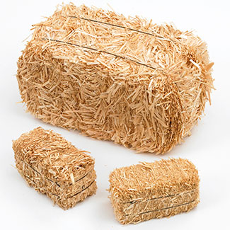 Mini Hay Bales - 2.5 inch - 2 per bag