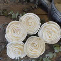 Wood Old Rose Flowers