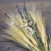 Golden Days of Summer - Wheat and Lavender Bouquet