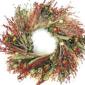 Beautiful Bird Feeder & Decorative Wreath - 22 inch