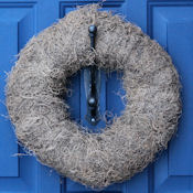 Natural Spanish Moss Wreath Base - 12""