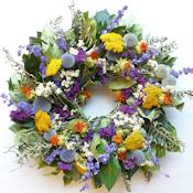 Little Garden Wreath - Dried 15 inch