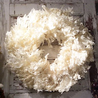 White Oak Leaves Wreath Extra Large 26""