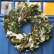 English Angel Vine White Wreath