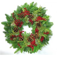 Fresh Evergreen Wreath